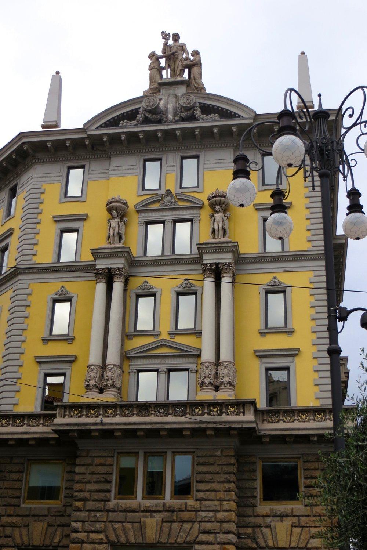 a building in Piazza Oberdan, Trieste, Italy