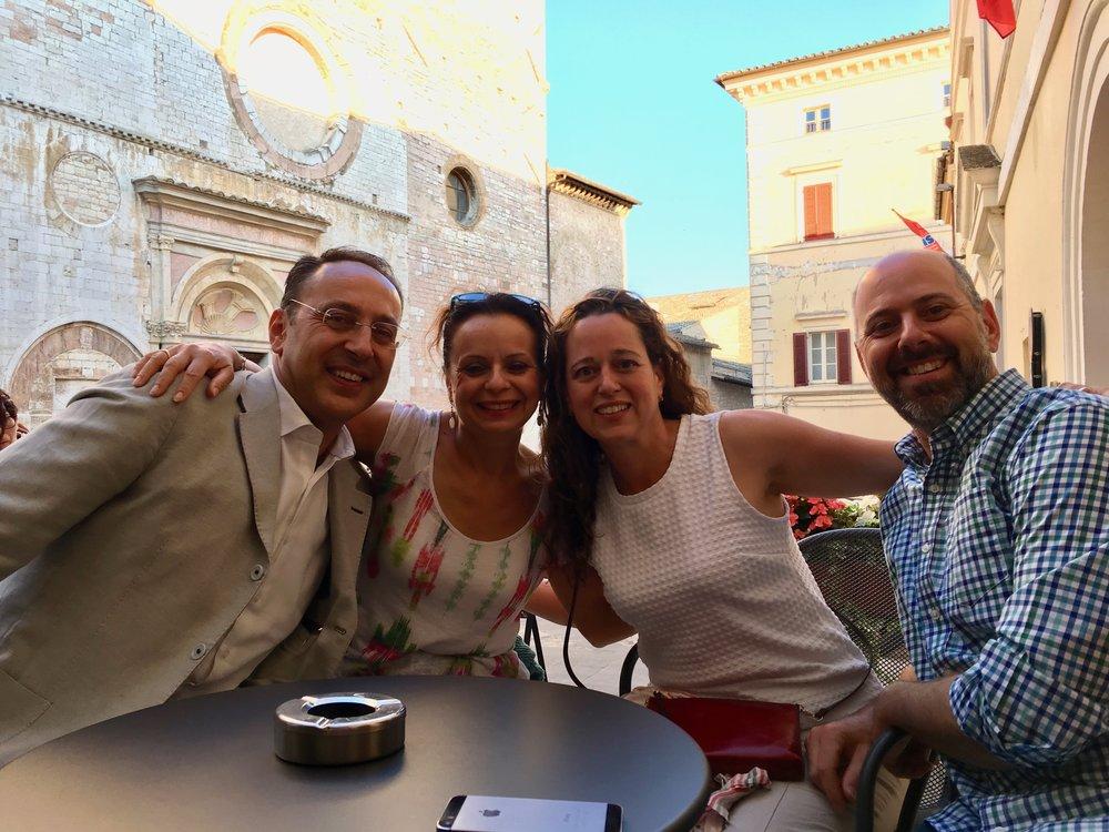 Aperitivo with Anna Maria and Stefano