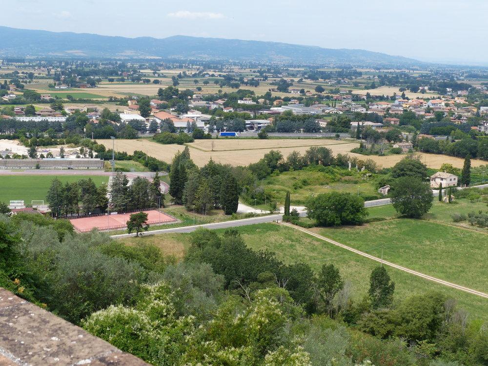 Spello's Roman amphitheater