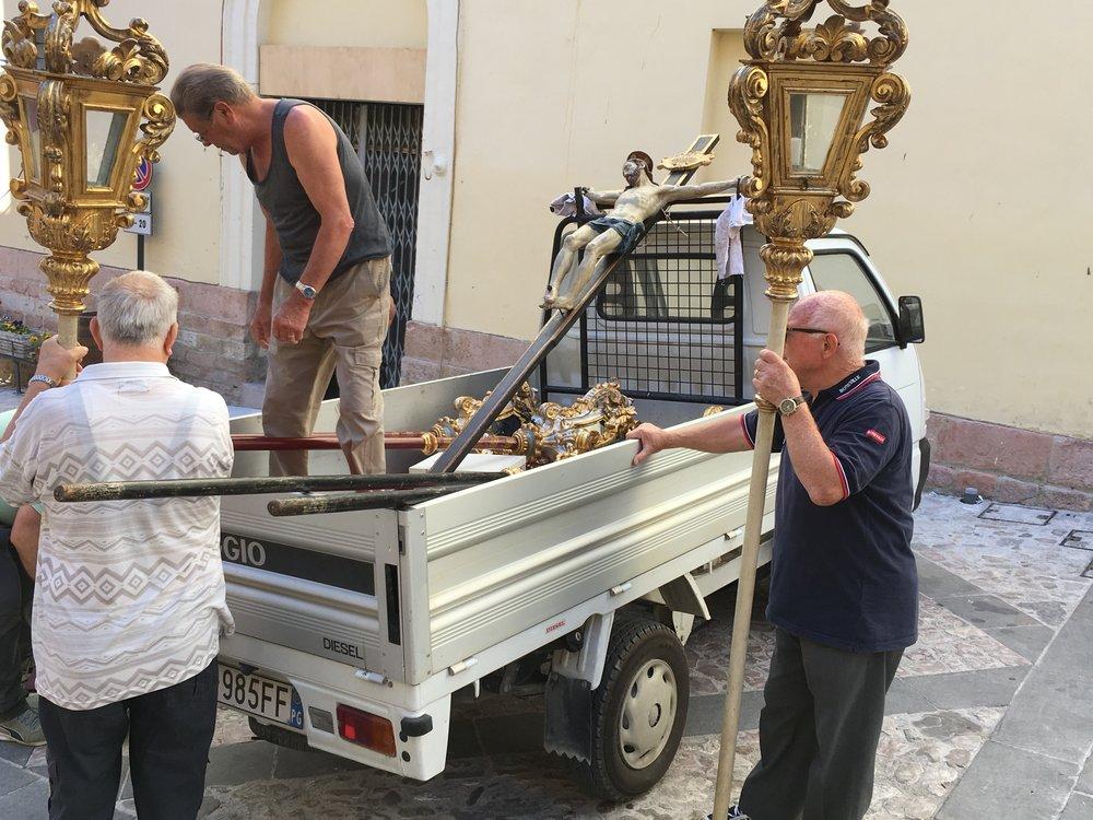 Packing up Jesus