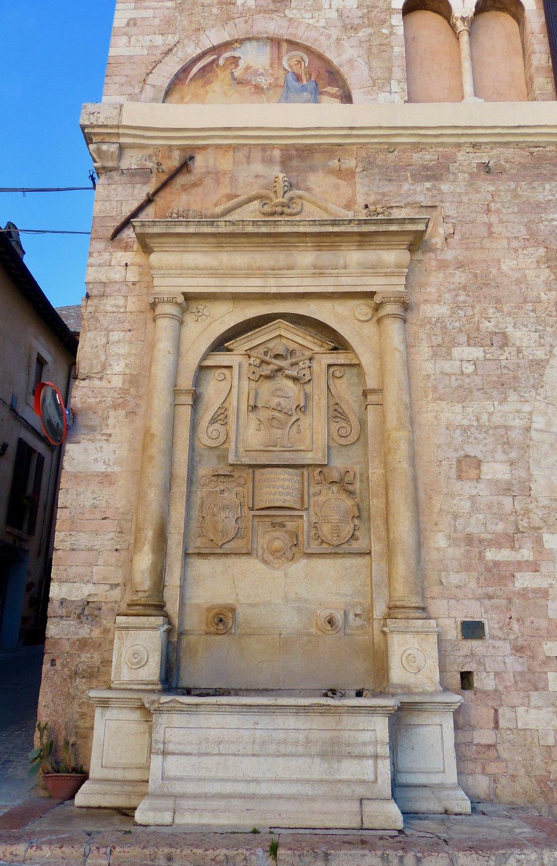 Fountain in Spello