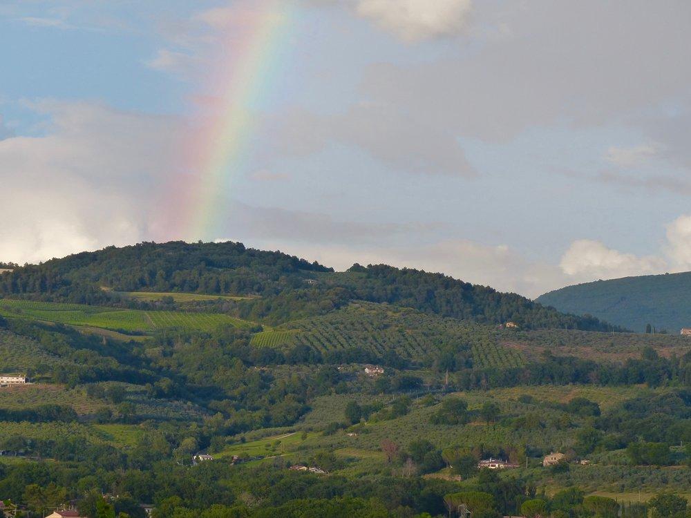 Rainbow, cue the strings