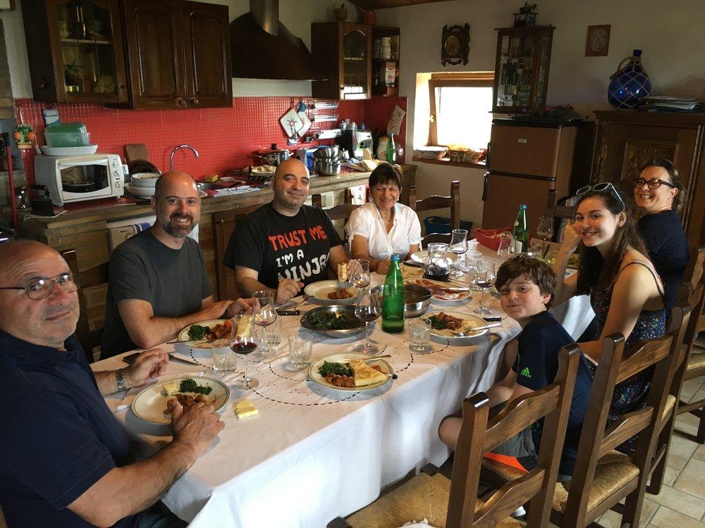 Lunch in Bettona