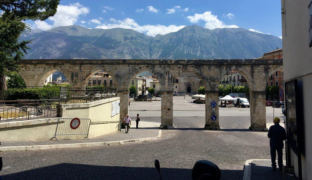 Aqueduct in Sulmona