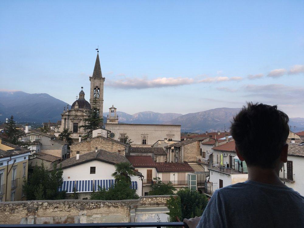 Saying Goodbye to Sulmona