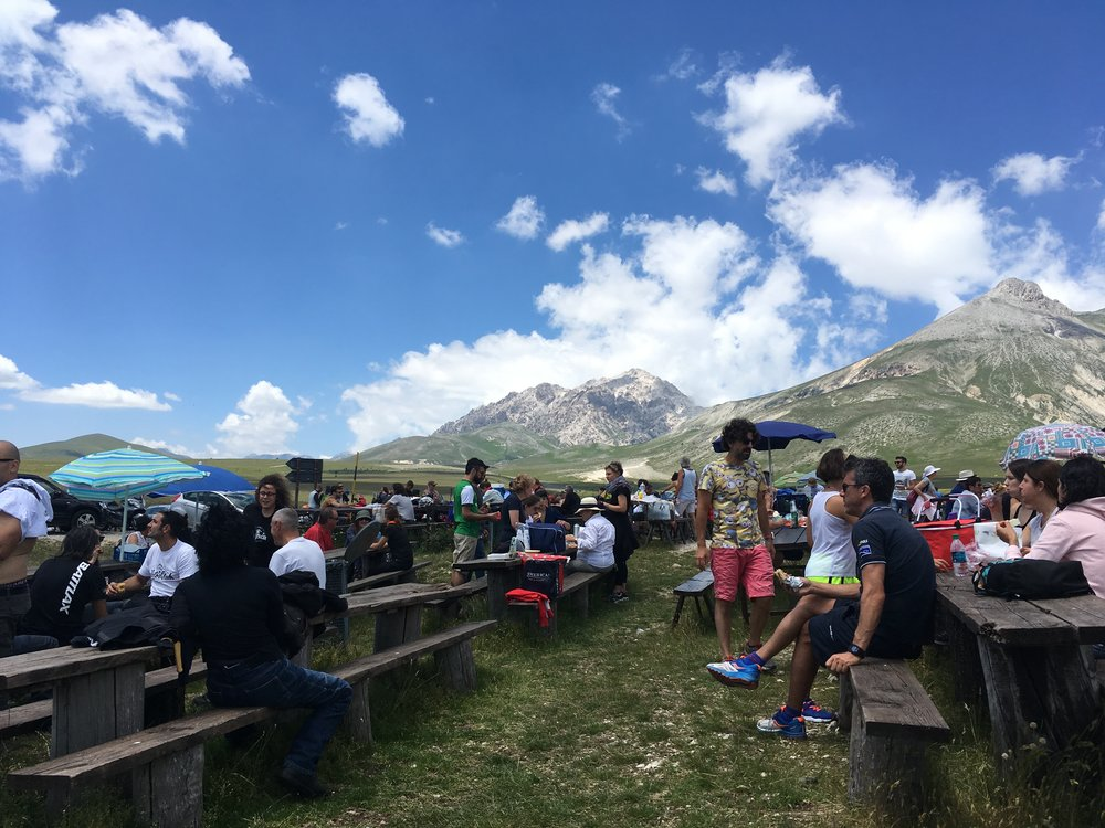 Views from Mucciante in Abruzzo