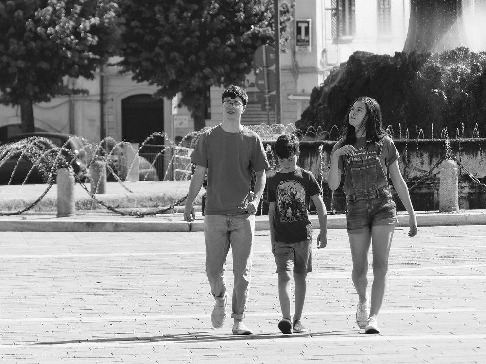 Kids in Sulmona