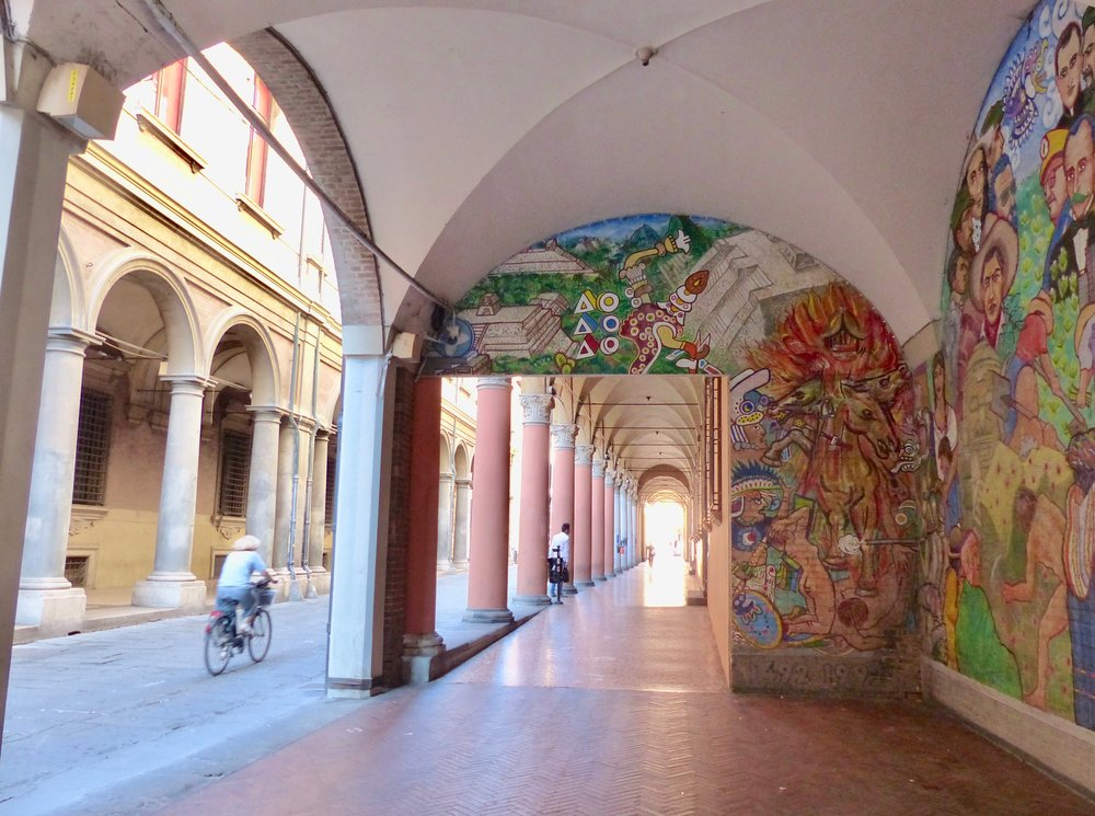 University in Bologna, italy