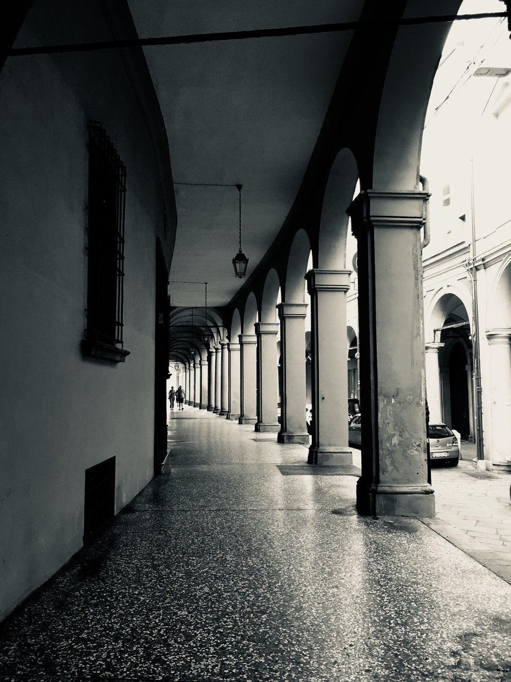 Peaceful porticos