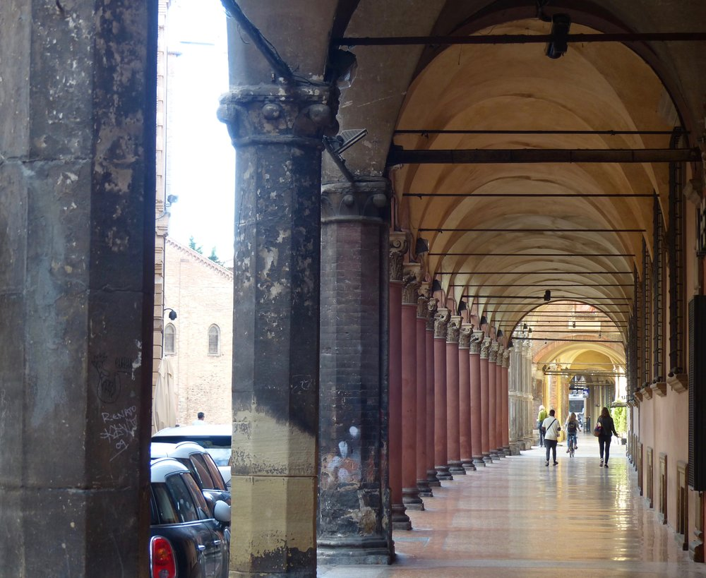 Portico Variation in Bologna