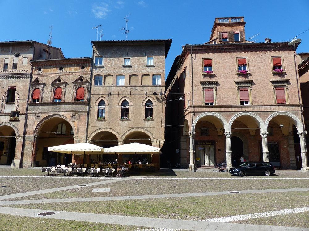 Piazza santo stefano in Bologna