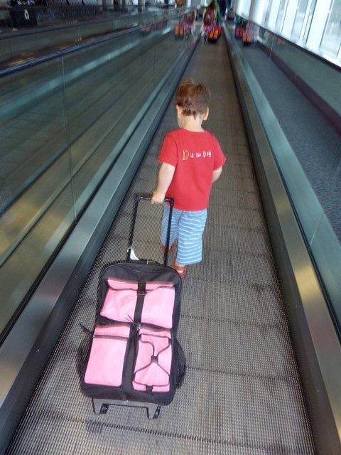 airplane bound