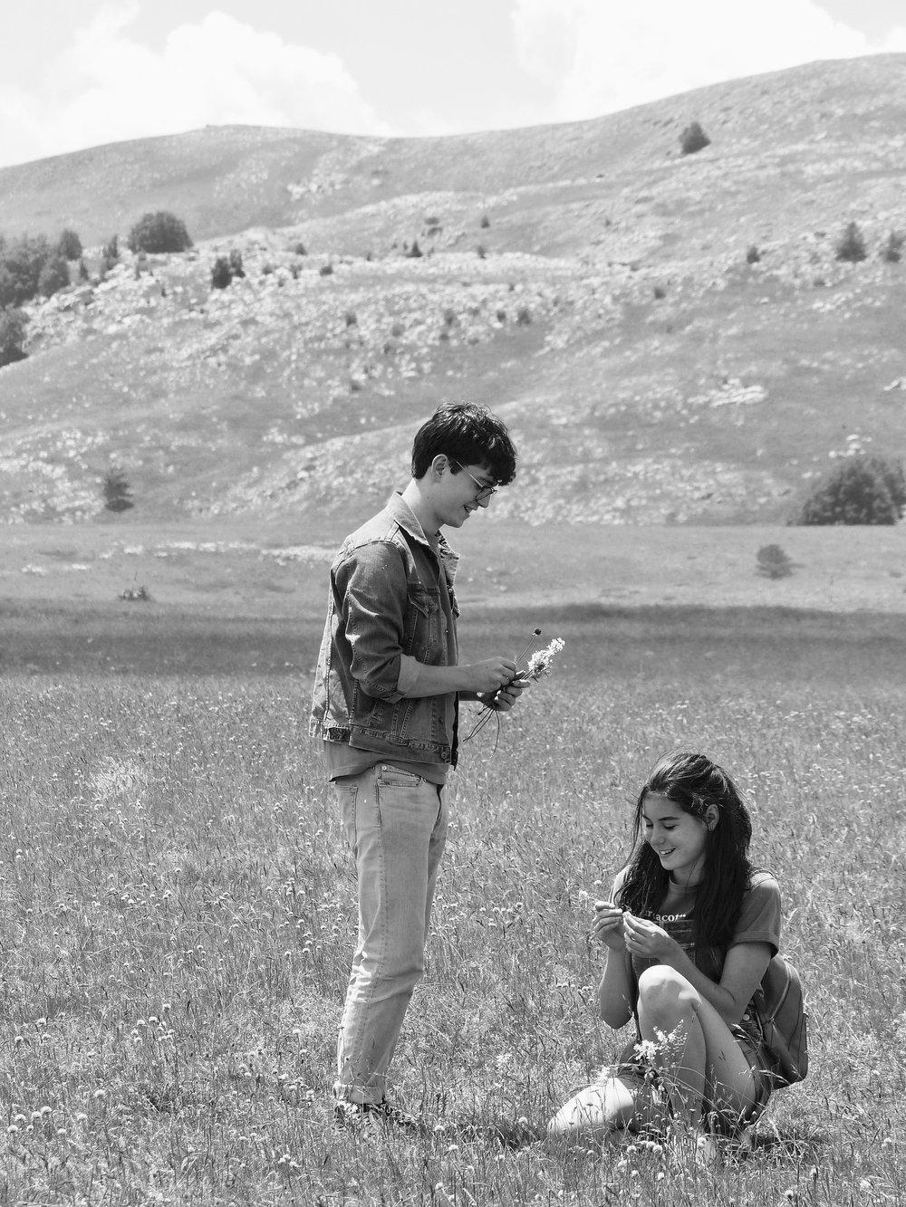 Nicolas and Siena in Abruzzo, 2018