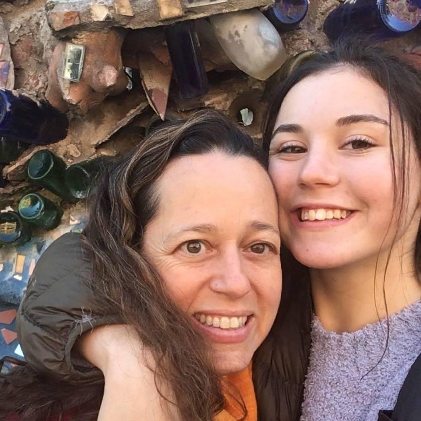 Siena and I in Philadelphia, 2018