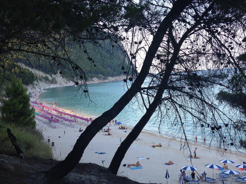 Seaside in Le Marche, Italy