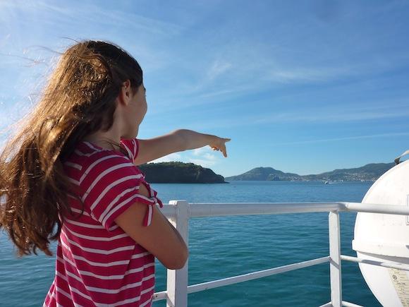 Ferry to Procida, Italy