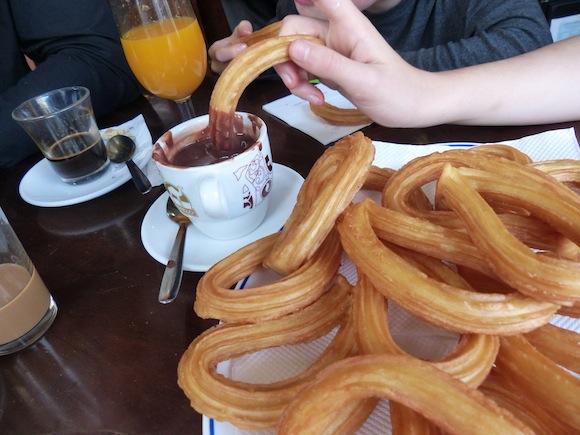 churros in seville