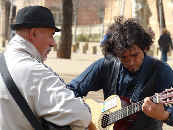guitar-players seville spain