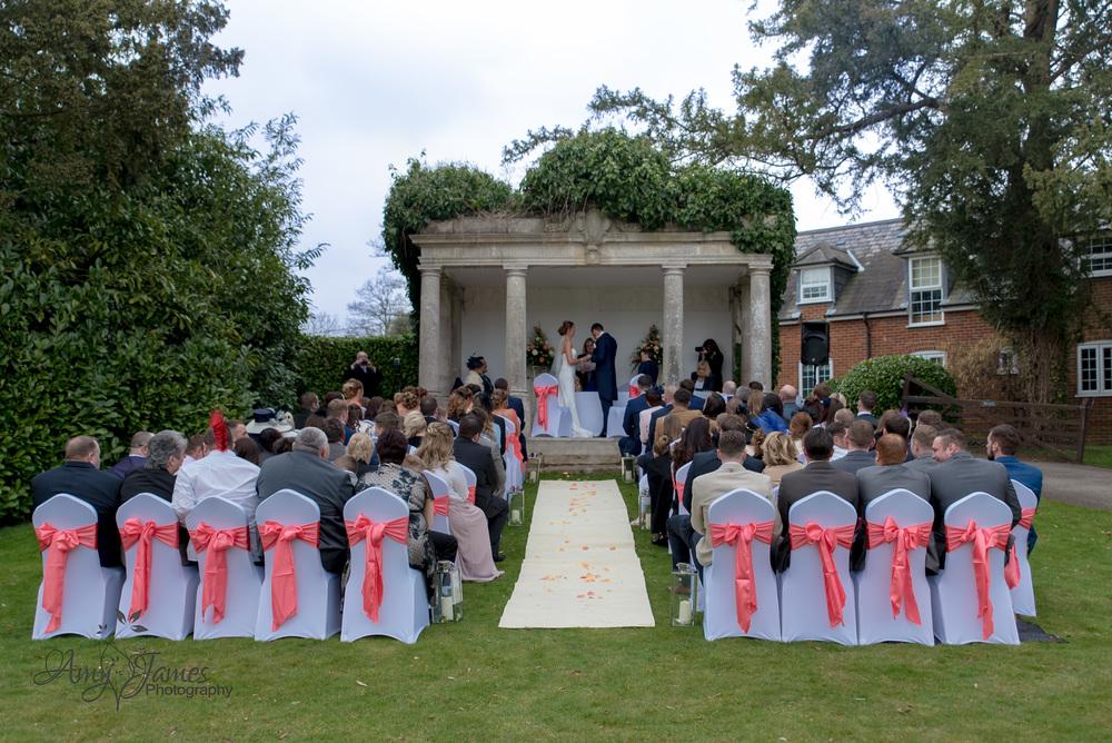 Fleet wedding photographer / Highfeld park wedding photographer