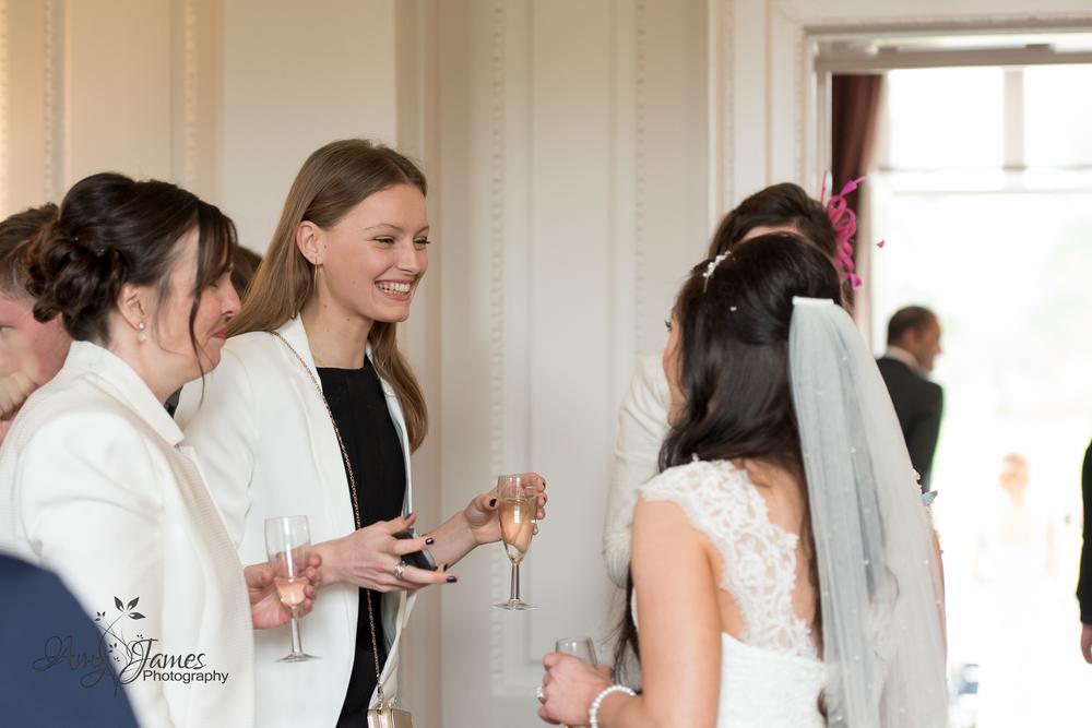 Hampshire wedding photographer // FLeet wedding photographer // Warbrook House wedding // Aldershot Garrison wedding