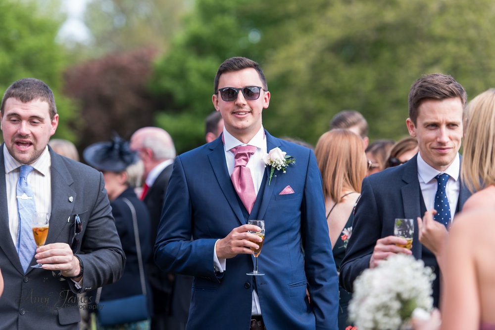 Highfiedl Park Hampshire Wedding Venue | Amy James Photography Fleet Wedding Photographer |