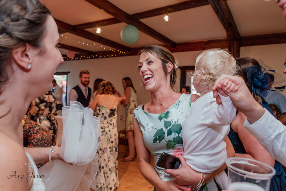 Wedding dancefloor photo by Amy James Photography Hampshire and Surrey documentary wedding photographer