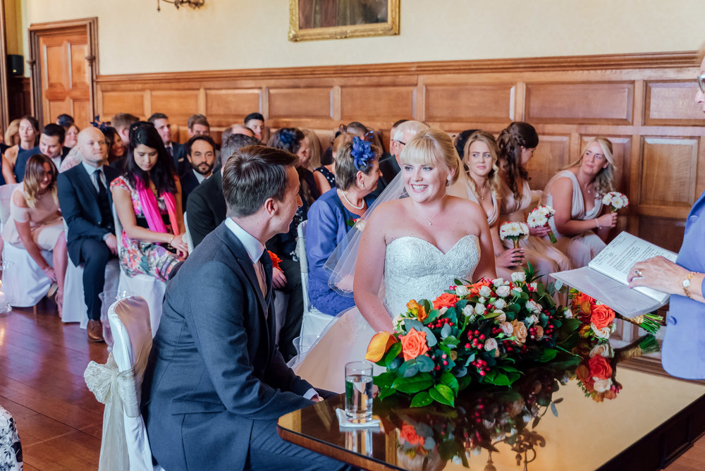 Bride and Groom at The Elvetham wedding venue - Amy James Photography - Hampshire wedding photographer