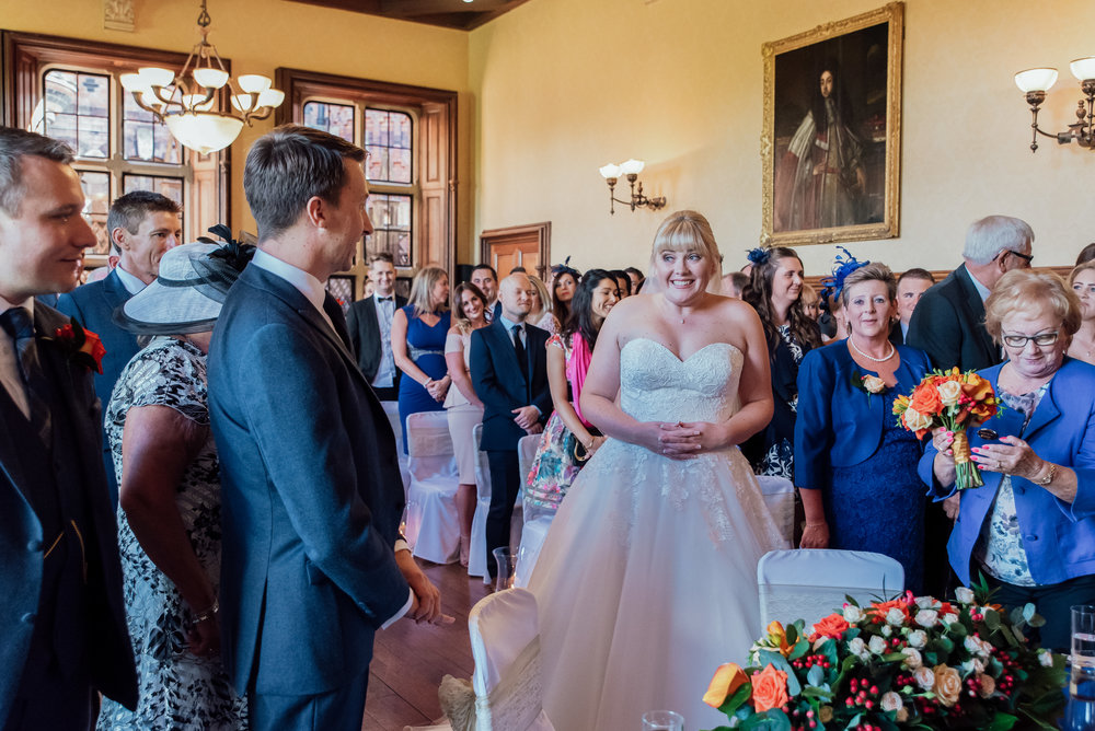 Bride and Groom at The Elvetham Wedding Venue in Fleet Hampshire - Amy James Photography - Hampshire wedding photographer