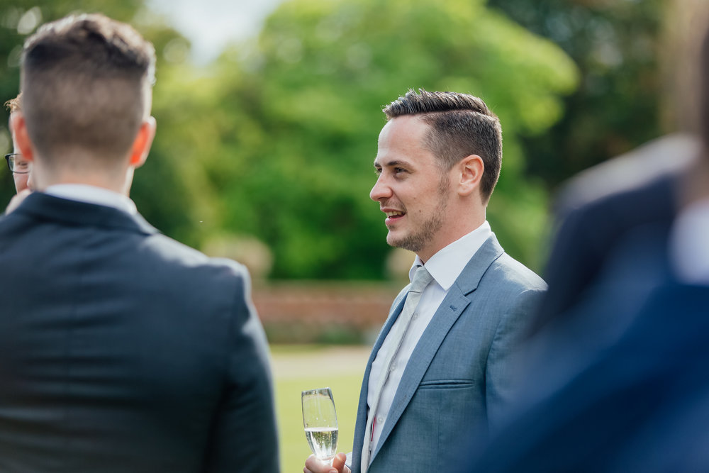 Candid Guest photographs - Hampshire documentary wedding photographer