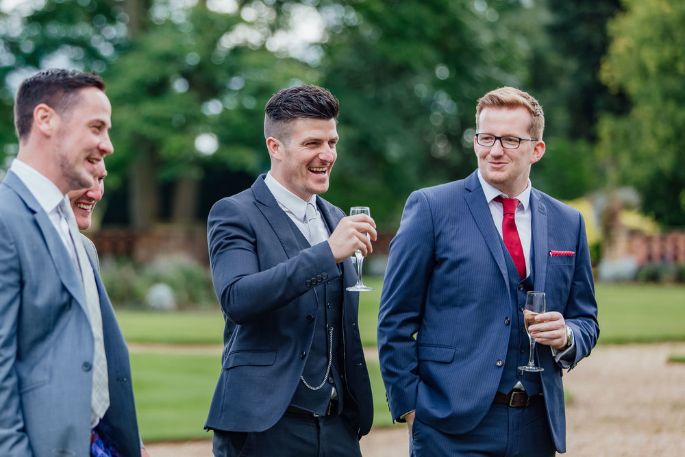 candid guest photograph - the elevtham - Hampshire wedding photographer - Amy James photography
