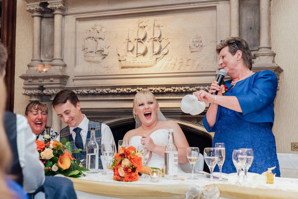 Wedding Speech - The Elvetham Hampshire Wedding venue - Amy James Photography - Documentary wedding photographer Hampshire