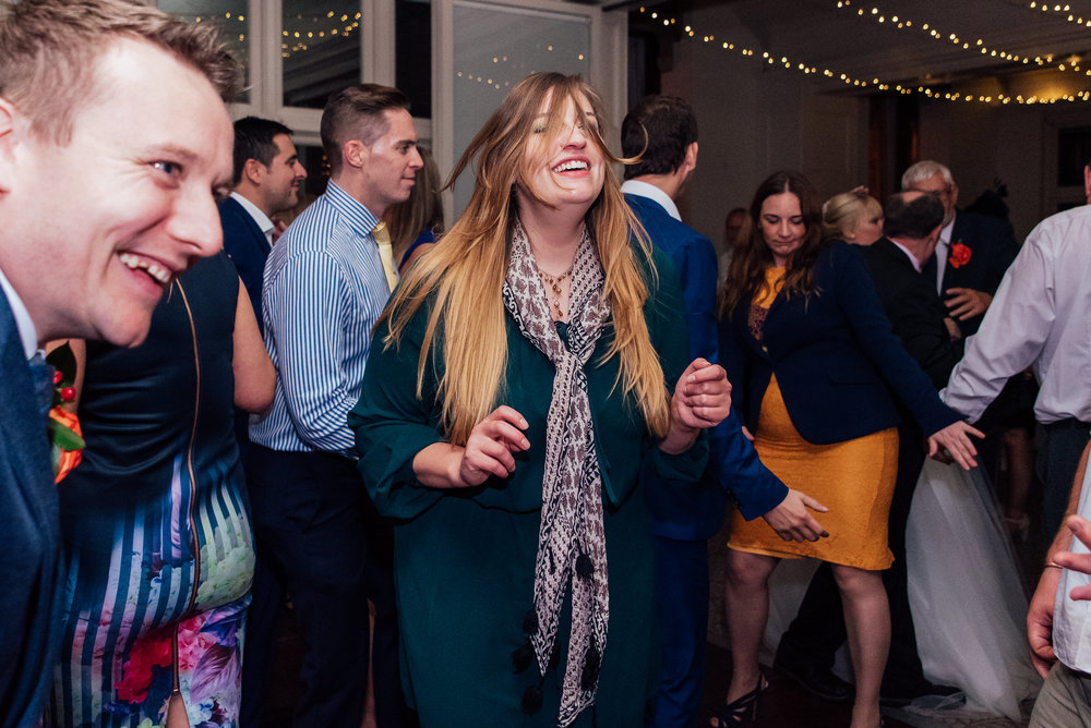 Wedding dancing - The Elvetham fleet Hampshire - Amy James photography - documentary wedding photographer Hampshire