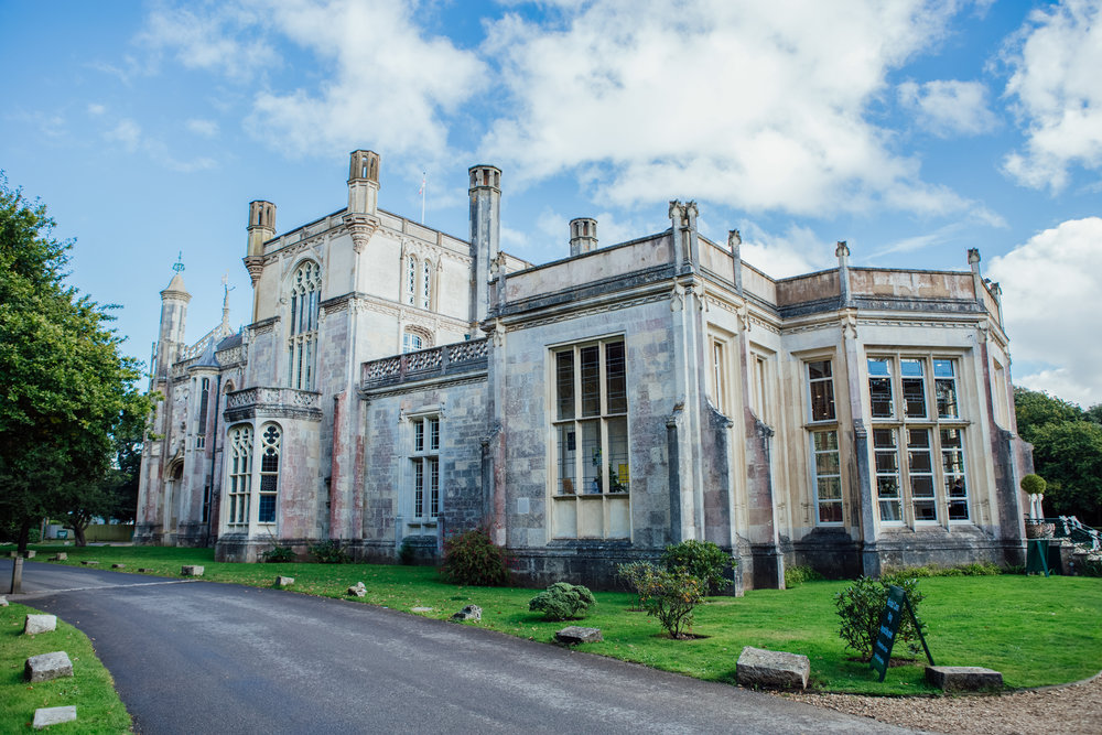 HIghcliffe Castle Wedding Venue Dorset - Amy James Photography - Documentary wedding photographer