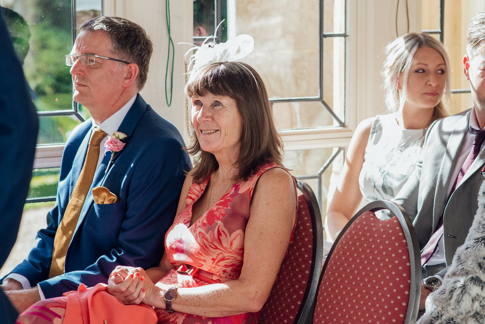 Grooms Mum at highcliffe Castle wedding Dorset