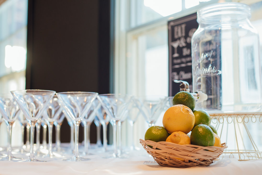 Drinks reception at the George in rye by Amy James photography