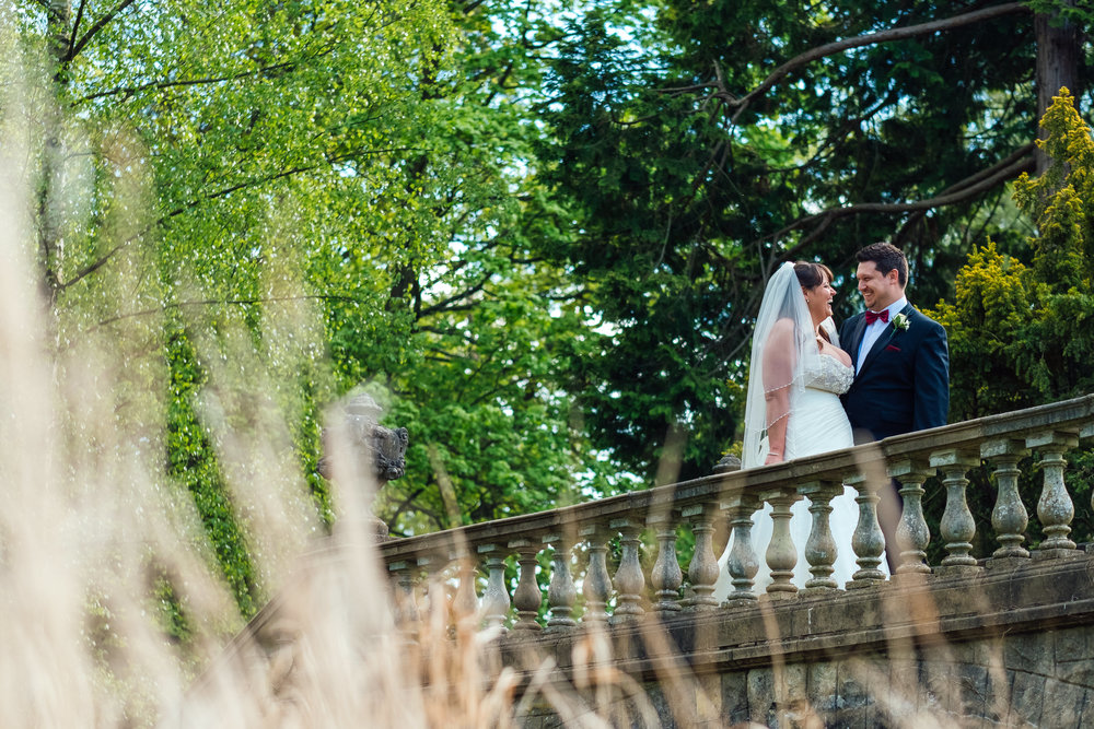 Bride and Groom at Heatherden Hall Wedding at Pinewood Studios - Amy James Photography - Wedding Photographer Hampshire Surrey ad Berkshire