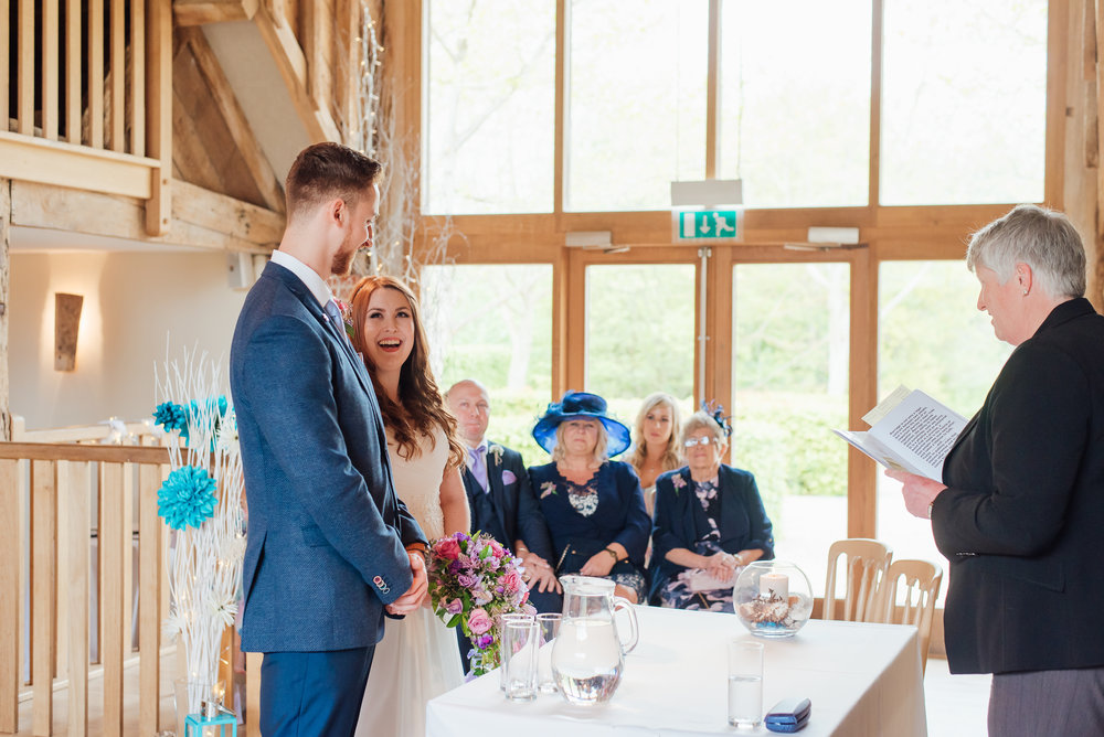 bern wedding ceremony at Bury Court Barn wedding Venue hampshire by Amy James photography Wedding-photographer-hampshire wedding-photographer-fleet-hampshire documentary-wedding-photographer