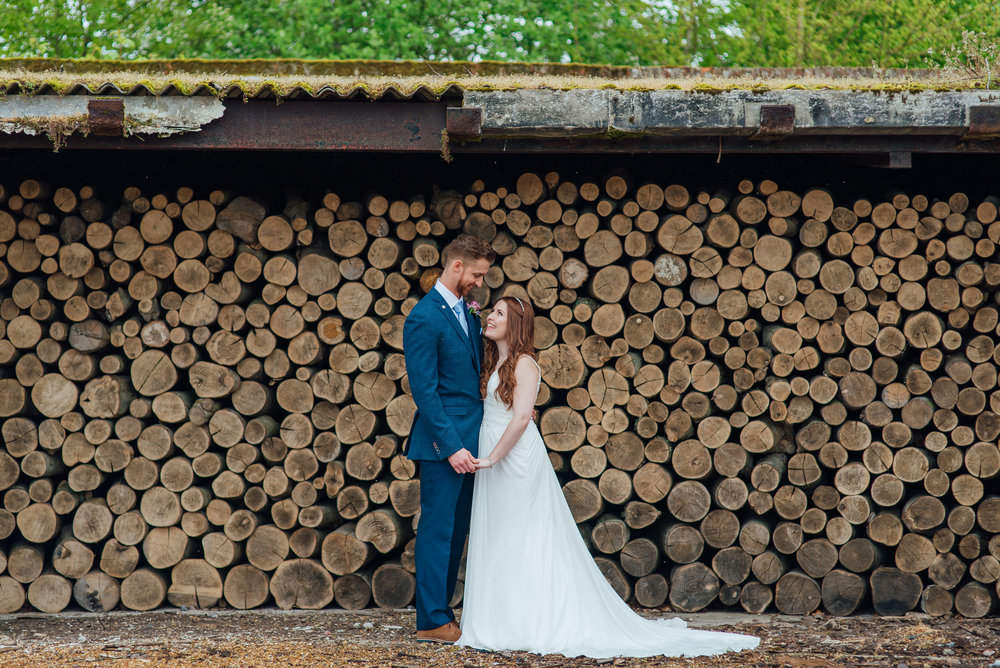 Bride and Groom at bury-court-barn-wedding-venue-hampshire by Amy James photography wedding-photographer-hampshire wedding-photographer-fleet documentary-wedding-photographer