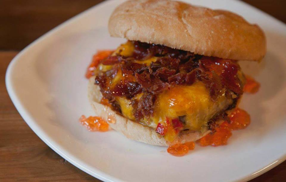 3. Bacon Pimento Cheeseburger  - Named best burger in the South by Garden & Gun magazine and also on Explore GA's
