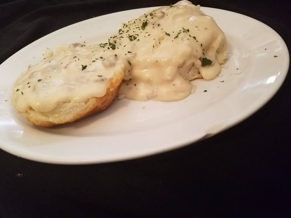 3. Biscuits & Gravy - Simple but classic, sausage gravy on delicious biscuits is never a bad idea.
