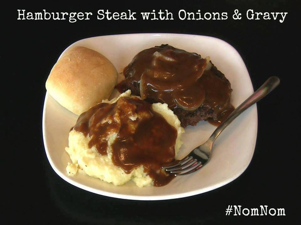 3. Hamburger Steak  - Smothered with onions and gravy, this dish will definitely leave you satisfied. Coming in as the third fan favorite, it's definitely worth a try.