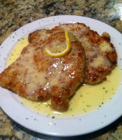 1. Pounded Pork Cutlet  - With a lemon butter sauce that will melt in your mouth, this dish is a personal favorite of ours. We can see how it is the number one fan favorite! We recommend you order macaroni and cheese as your side dish.  We think it's the best in Columbus.