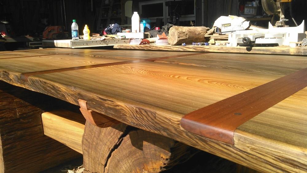 Sinker Cypress Table/Desk