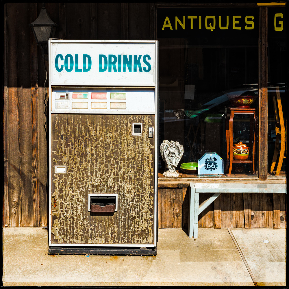 Cold Drinks and Antiques