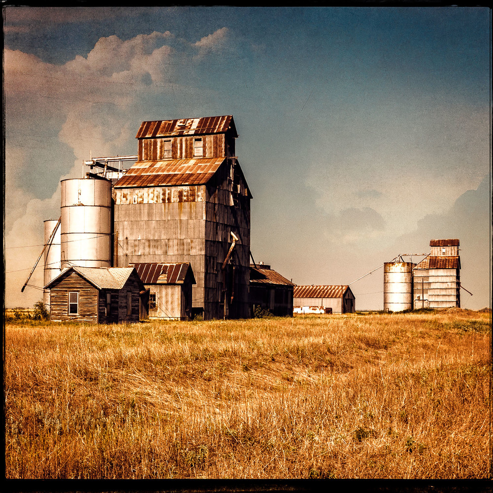 Grey County Grain Mills, McLean, Texas