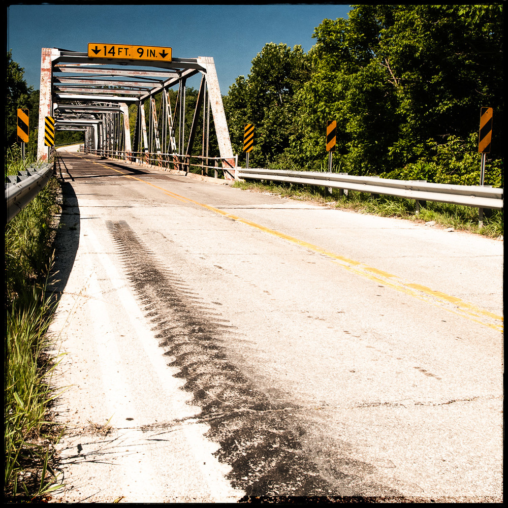 The Gasconade River Bridge, East View