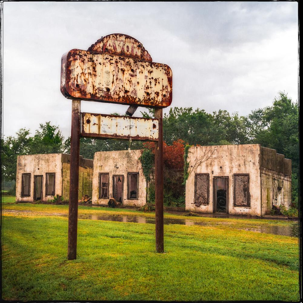Avon Motel Ruins