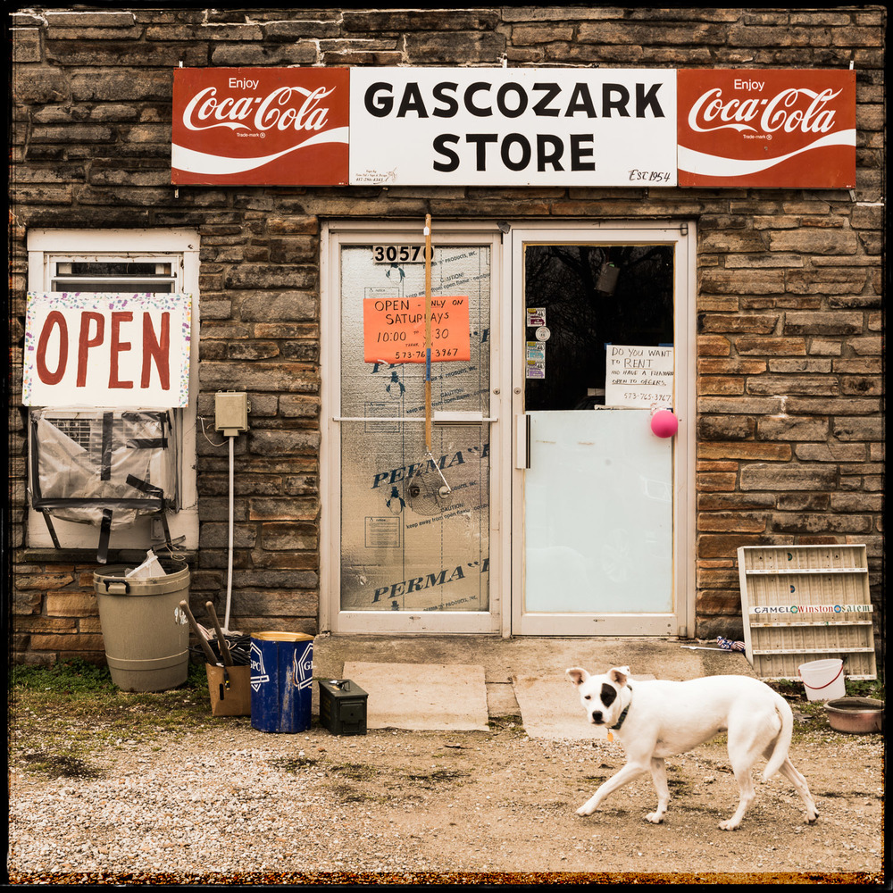 Gascozark Store and Friend