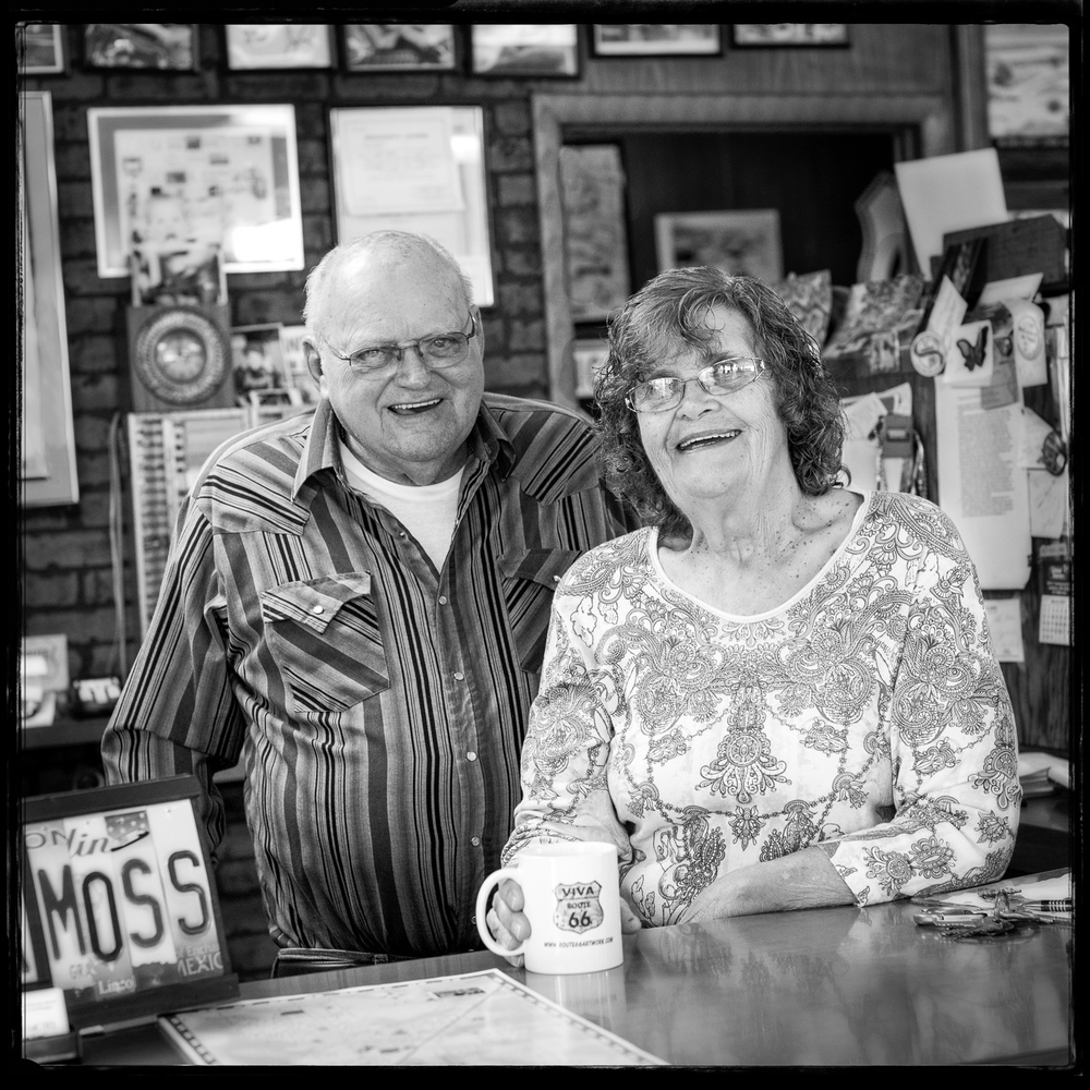 Bob and Ramona Lehman, Owners Munger Moss Motel, Lebanon Missouri, Route 66