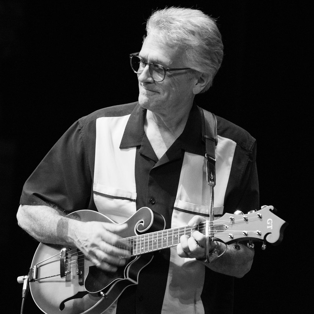 Joe Loesch bustin' it out on mandolin.